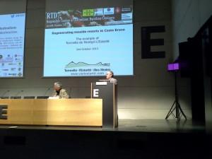 Presentació a Barcelona el dia 4 d'octubre del resum de la jornada del passat 2 d'octubre