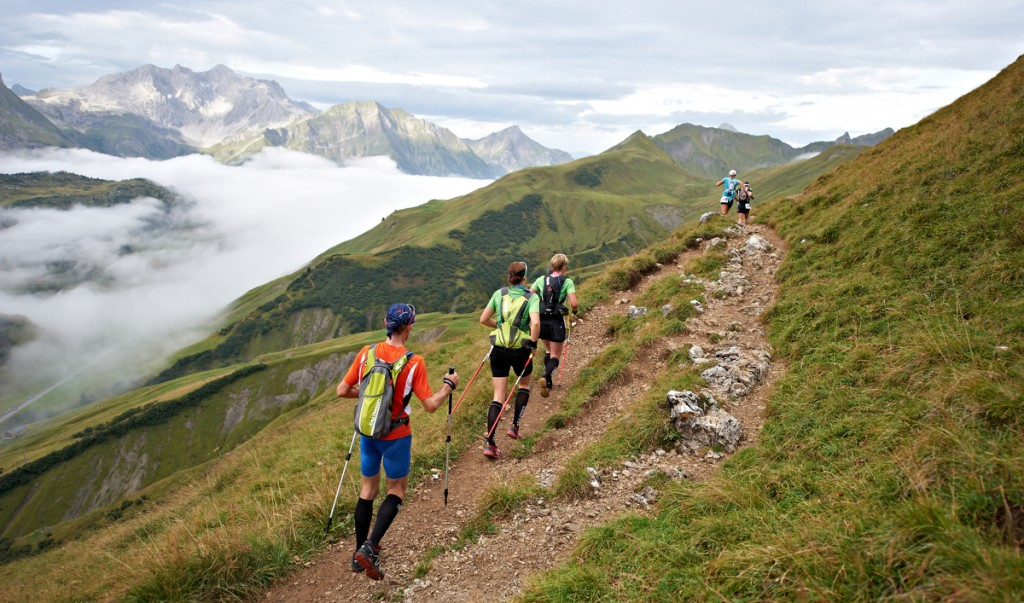 Transalpine Run, trail running, Oberstdorf (GER) - Latsch (ITA)