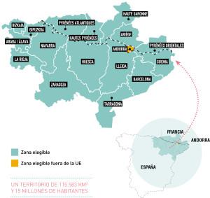 mapa POCTEFA