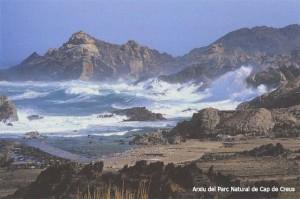 Temporal de mar a Tudela